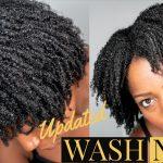 Wash N Go  On Short to Medium Length 4B/4C Natural Hair [Video]