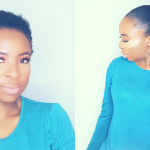 How To – Do Sleek Ponytail With Weave On Short Natural Hair [Video]