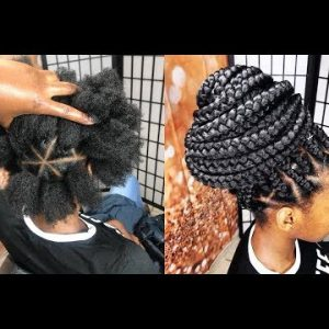 The Best Way To Grip 4c Hair Using The Rubber Band Method [Video]