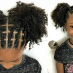 Kids Natural Hairstyles - Rubber Band Protective Style on Natural Hair [Video]