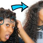Small forehead + Low edges?!! Watch This!! How to: Customize a Lace Frontal [Video]