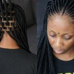 How To – Ghana Tribal Braids + Perfecting Box Parting On Box Braids [Video]