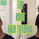 Top Knot Bun On Very Thick 4c Hair!! [Video]