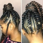 Extra Long Feed in Ponytail Braids [Video]