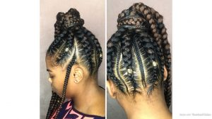 Extra Long Feed In Ponytail Braids Video Black Hair Information