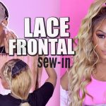 Save Money, Sis! DIY Blonde Lace Frontal Sew-In Weave [Video]