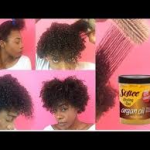 Wash N' Go for short/medium Natural hair – How to get Curly Hair – Women or Men [Video]