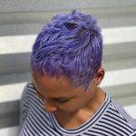 Purple Pixie @hairbyuno