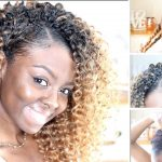 Braidless Crochet – Invisible Part – No Cornrows [Video]