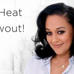 Tia Mowry's Heatless Blowout [Video]