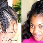 Crochet Ponytail – Back to School Protective Styles [Video]