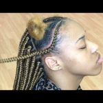 Blonde Feed In Box Braids Very Detailed Beginner Friendly [Video]