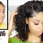 How To Apply Lace Wig For Beginners (No Glue, No Sew, Easy) [Video]