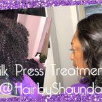 Silk Press Treatment [Video]