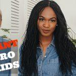 Million Braid Wig – Instant Micro Braids #SAVEYOUREDGES [Video]