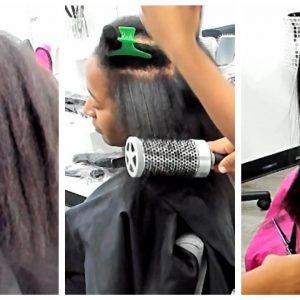 Silk Wrap On Thin Natural Hair [Video]