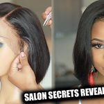 Salon Secrets Revealed: Lace Frontal Wig for beginners [Video]