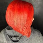 This bob is Fire @shanelthehairstylist & color by @roxiirock_hair