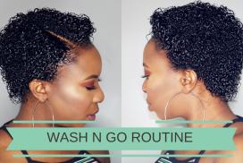 WASH N GO ROUTINE