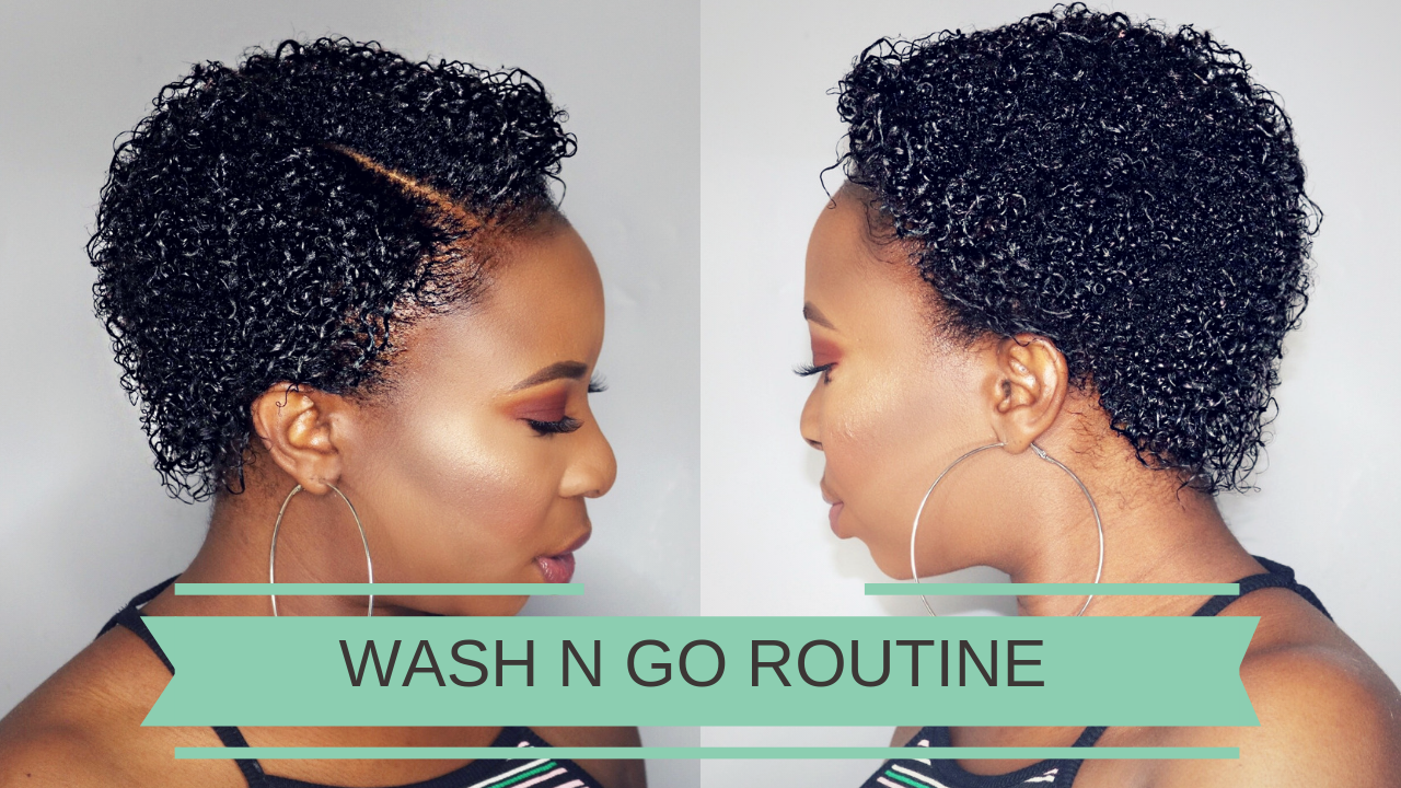Wash N Go Routine On Short Hair Video Black Hair Information
