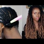 New Hair! How To Do Simple Crochet Braids Using Natural Looking Locs  Ft Divatress [Video]