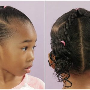 A Cute Less Than 10 Minute Hairstyle – Beginner/Easy Hairstyle [Video]