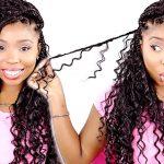 Goddess Box Braids Tutorial! Step By Step In Detail! [Video]