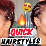 Quick n Easy Natural Hairstyles Under 5 minutes! for Type 4 Hair [Video]