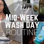 My Mid-Week Wash Day Routine + Scarf Method – Relaxed Hair [Video]