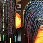 I Cant Believe Someone Called This Ugly|Regular Speed Feed In Braids + Triangle Box Braids [Video]