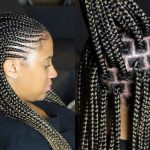 Half Cornrows – Half Box Braids Hairstyle [Video]