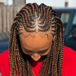 Round Feed In Braid + Box Braids [Video]