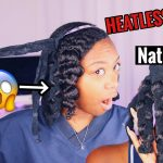 Octocurl Heatless Waves On Natural Hair?!?? – Shook Af Sis!!!! [Video]