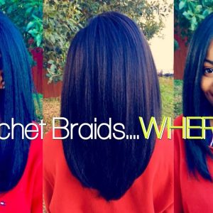 The Neatest Straight Crochet Braids Ever! [Video]