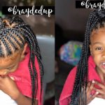 Kids Feed In Braid +Triangle Part Box Braid Combo [Video]