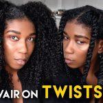 Does Revair Hair Dryer Work On Twists + Twist Out!? Revair Reverse Hair Dryer Natural Hair [Video]