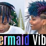 Defined Flat Twistout On Tapered Natural Hair [Video]