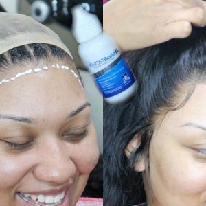 Very Honest + Detailed Frontal Wig Install Using Ghost Bond Glue [Video]