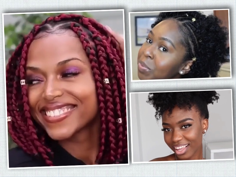 Hairstyle Compilation For Black Women Natural Hair Curly Hair