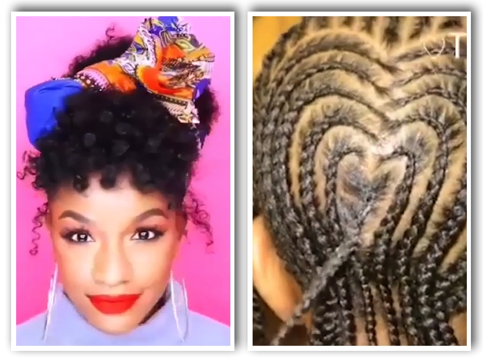 Hairstyle Compilation For Black Women and Kids , Natural