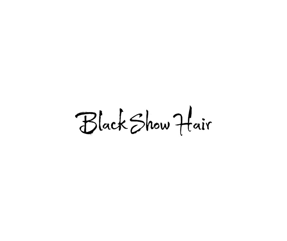 black show hair logo