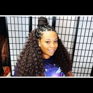 Quick Braided Style For Teens [Video]