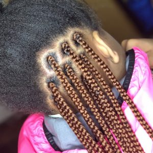 What The Tuck?! How To Tuck Natural Hair Into Box Braids For A Solid Color [Video]