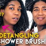 Wth Is This!? Conair Showerhead Detangling Brush Review!! Type 4 Natural Hair [Video]