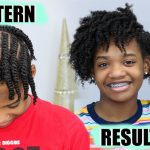 How To: Flat Twist-Out Set Up And Results On Kids Natural Hair [Video]