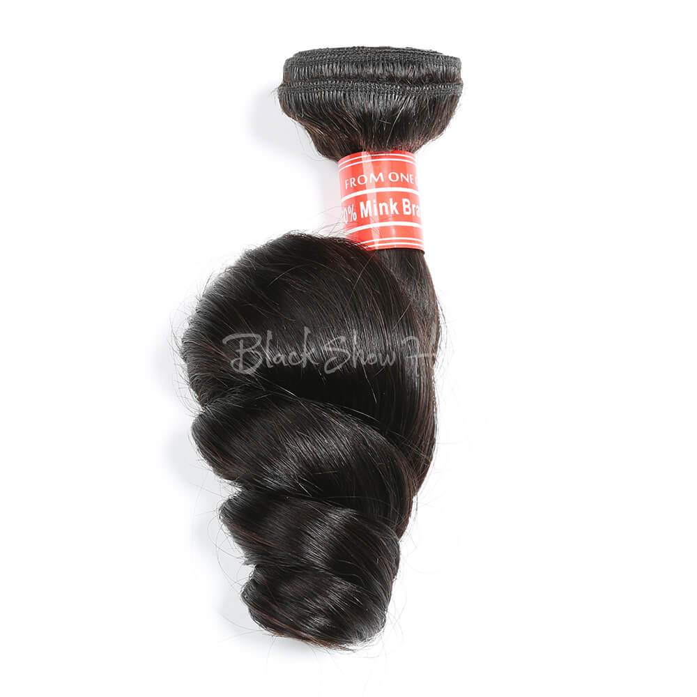 Mink Brazilian Loose Wave Hair Bundle
