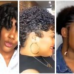 Simple Natural Hairstyles – Flexi Rod Set, Flat Ironing & Twist Out On Natural Hair Compilation