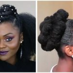 The Versatility Of Natural Hair – Hairstyle Compilation – Mini Buns, Updo, Wash and Go, Flat Iron