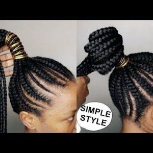 Fixing Hair On A Lazy Day- Cornrows [Video]