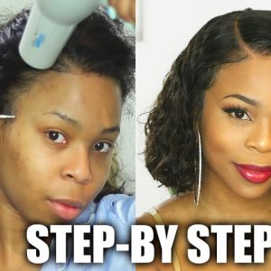 How To: Install A Curly Lace Frontal Unit [Video]